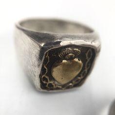 Un preferito personale dal mio negozio Etsy https://www.etsy.com/it/listing/489603901/maria-square-heart-ring