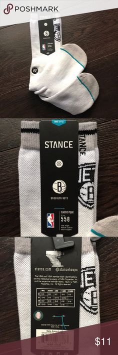 Stance Brooklyn Nets socks - 9-12 NWT Stance Brooklyn Nets socks - 9-12 NWT  ❤️Make an offer! Please remember Poshmark takes 20% 🖤Sorry no trades ❤️I ship quickly! 🖤Please accept your packages on the app as soon as you receive them so that the sellers can be paid.  ❤️Please read all descriptions and note condition before you buy. 🖤Bundle your likes for a special deal! Stance Underwear & Socks Casual Socks