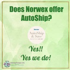Does Norwex offer AutoShip?