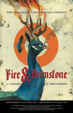 Fire & Brimstone | The Hop & Vine and Saraveza