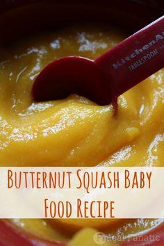 Butternut Squash Puree   27 Easy DIY Baby Foods