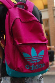 adidas pink rucksack