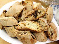 Biscotti med mandel och pistage