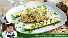 Chicken with Courgettes (using onion free Reduced Salt Knorr chicken stock cubes)