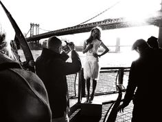 Shooting backstage of Antica Murrina in Manhattan, for the launch of the spring/summer collections.