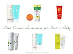 Check out the Best Natural Sunscreens for Face & Body on the Organic Beauty!