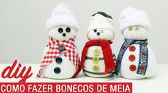 DIY   COMO FAZER BONECOS DE MEIA
