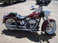 2010 Harley Davidson Softail Deluxe 7,242 Miles, Red #2519 $17,999