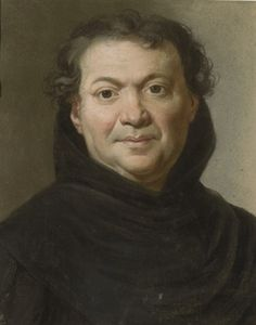 Portrait of an ecclesiastic, bust-length by Joseph ducreux