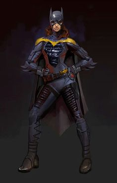 Injustice Batgirl - one of my favorite characters in the game.