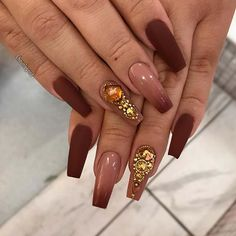 82 Trendy Acrylic Coffin Nails Design For Long Nails For Summer Black Nail Designs, Best Nail Art Designs, Sparkly Nails, Gold Nails, Matte Gel Nails, Gel Nagel Design, Coffin Nails Long, Nagel Gel, Halloween Nails