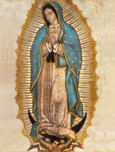 Saint of the Day – The Feast of Our Lady of Guadalupe – 12 December – Our Mother of Guadalupe, The Madonna of Tepeyac, Tonantzin – The First Apparition was on 12 December 1531 and was approved by the Holy See on 12 October 1895, during the Canonical coronation granted by Pope Leo XIII – Patronages: of Americas; New World, Central America, Mexico, New Mexico, Pojoaque Indian Pueblo, 12 dioceses, 3 cities....