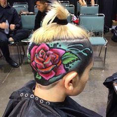 ROB THE ORIGINAL – ART INTO HAIRCUTS #RobTheOriginal #Art #Haircuts #staycute