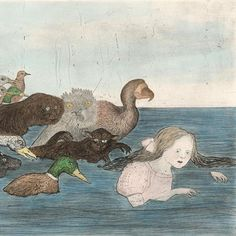New York-based artist Kiki Smith has sent her edited print life work - hundreds of… Kiki Smith, Sketch Painting, Sculpture, Portrait Art, American Artists, Pet Birds, Alice In Wonderland, Art Inspo, Body Art