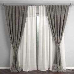 Cortina com Xale Cortina de voil e xale no varão. The post Cortina com Xale appeared first on Gardinen ideen. Living Room Decor Curtains, Home Curtains, Bedroom Decor, Contemporary Curtains, Modern Curtains, Curtain Designs, Style At Home, Cool House Designs, Living Room Modern
