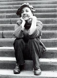 cinéma francais    jeanne moreau dans jules et jim francois truffaut I96I (I928 - 20I7) french actress movie scene