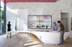 #Mesa de trabajo SLO_Gen realizada con #HiMacs para las #oficinas de #Gensler de Los Angeles