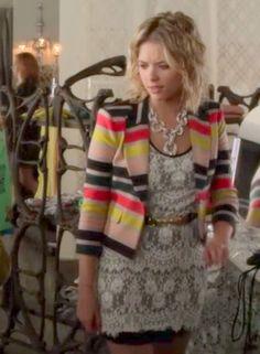 Pretty Little Liars fashion: it happened that night | Possessionista Fashion Blog