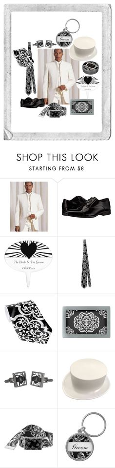 """""""Classic White Wedding"""" by secretarialap ❤ liked on Polyvore featuring Polaroid, Calvin Klein, contemporary, vintage, men's fashion and menswear"""