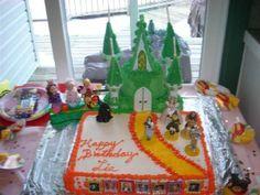 Wizord of Oz theme cake