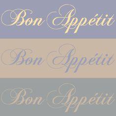 Bon Appetit Lettering Stencil | Royal Design Studio $25.00