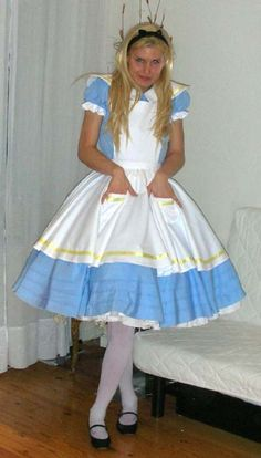 """""""Even a boy can be Alice.  He could try anything once till you knew that always a great experience that they would remember for life!"""" - """"Let your kid crossdress, it helps him to understand what a drag really was.  Don't be afraid of letting him become a drag.  Remember it would simply be some fun."""""""