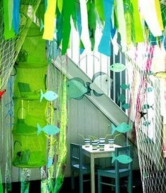 Under the sea streamers