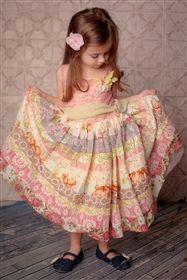 Moxie & Mabel - Rosalie dress in Country Fair