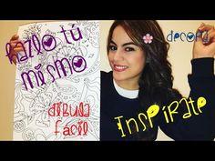 Dibujo Lindo Flores y Corazones - Inspiración y Decoración - Mayra - YouTube
