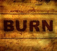 How to make a burnt wood text effect in photoshop.  Notes: command=ctrl; hit edit-fill to get the gray fill around the letters