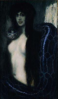 Il peccato, 1908, Franz Von Stuck