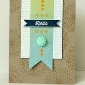 Picture of Hello card (WCMD challenges)