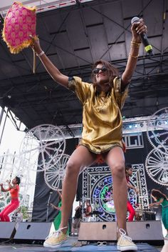 M.I.A. | GRAMMY.com // Her performance at Pitchfork Fest was amazing.