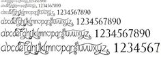 fontes de letras - Pesquisa Google