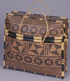 Basketry Bag - Ethnology Collections Database - Burke Museum