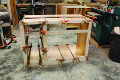 Use this simple, strong method for constructing custom cabinets and other built-ins. Woodworking Table Saw, Unique Woodworking, Woodworking Projects That Sell, Woodworking Guide, Woodworking Magazine, Popular Woodworking, Woodworking Furniture, Woodworking Skills, Woodworking Workshop