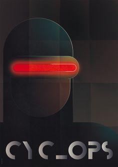 Greg Guillemin Futurist Comic Posters