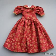 Cum să coase o rochie papusa.  rochii de model pentru păpuși