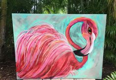A personal favorite from my Etsy shop https://www.etsy.com/listing/256605127/flamingo-rose