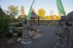 Porte du jardin zen