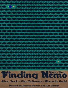 Retro 'Finding Nemo' poster