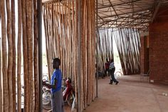 Kéré Architecture : Lycée Schorge Secondary School in Koudougou, Burkina Faso