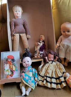 Vintage dolls and flatware, featuring 12-pc sterling flatware set, vintage Christening gown, much more!