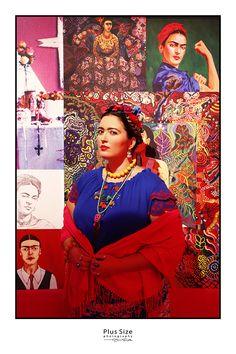 Plus size Frida Kahlo - plus size fotózás Erdős Juci fotográfussal.  +36208525100 erdosjuci@gmail.com
