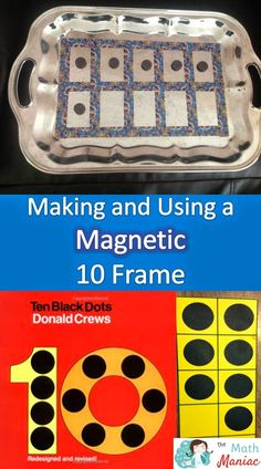 See how to make a magnetic 10 frame and grab a fun 10 frame freebie!