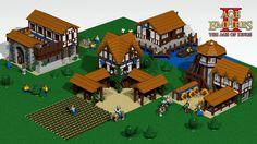 Age of Empires II Lego by artizan