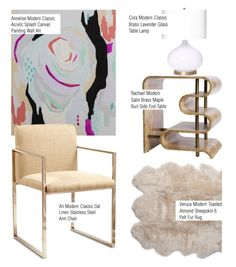 """""""Modern Home Decor"""" by kathykuohome ❤ liked on Polyvore featuring interior, interiors, interior design, home, home decor, interior decorating, modern and livingroom"""