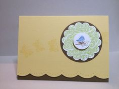 stampin up four seasons | Stampin' Up! Four Seasons Card... we're making this on Feb 16th!