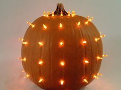 How To Make A LED Lighted Pumpkin: Easy DIY Projects Tutorial
