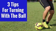 Soccer Drills: 3 Tips For Turning With The Ball - YouTube Soccer Training Drills, Running Drills, Soccer Workouts, Soccer Drills, Soccer Tips, Soccer Games, Play Soccer, Soccer Ball, Best Football Players